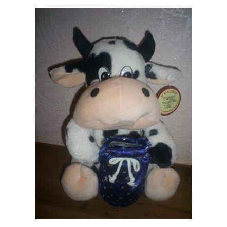 "Мягкая игрушка ""Корова-копилка"""