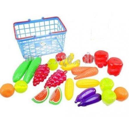 Корзина с  фруктами и овощами детская Урожай 379 в 3 Орион, Украина