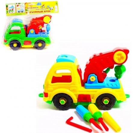Конструктор Собирайка  Подъемный кран 29.000  Toys Plast, Украина