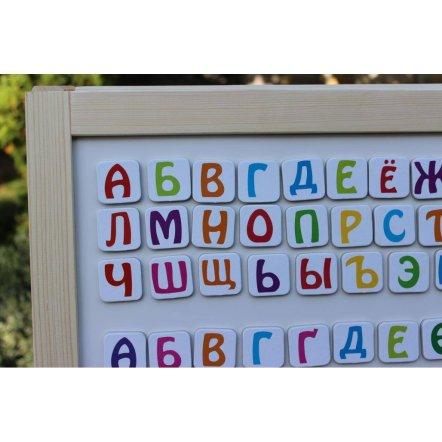 """Мольберт детский деревянный двухсторонний """"All inclusive"""" Украина"""