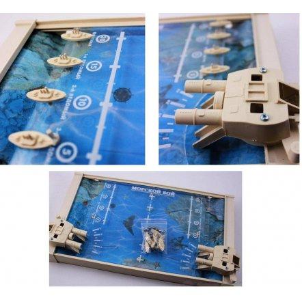 """Настольная игра """"Морской бой"""" 1234 Colorplast, Украина"""