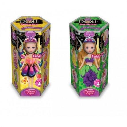 Набор креативного творчества для лепки с малой куклой Princess Doll CLPD-02 ДАНКО ТОЙС