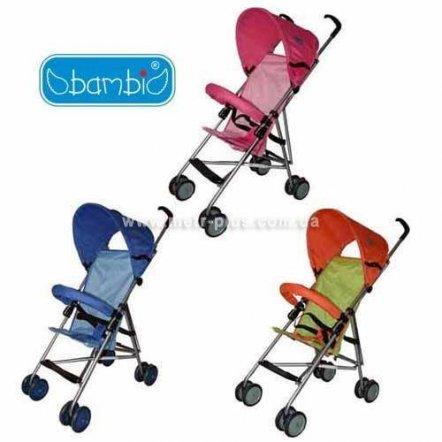 Коляска-трость детская облегченная прогулочная Bambi  QX 101 R