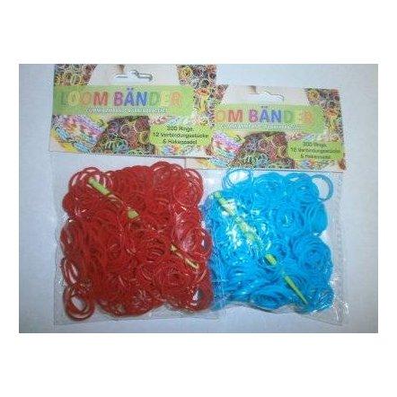 Набор резиночек для плетения браслетов с крючком 60169