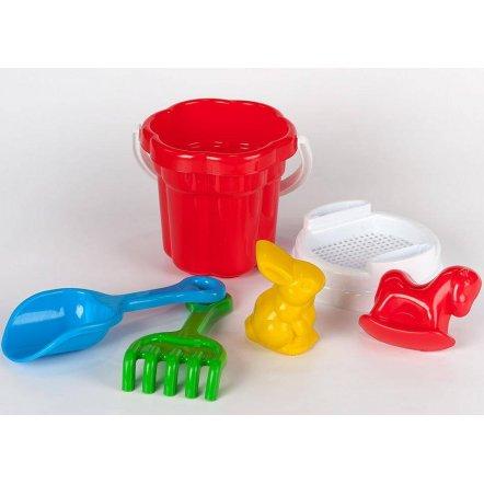 Песочный набор маленький  Ромашка с пасочками Животные Toys Plast Мерефа