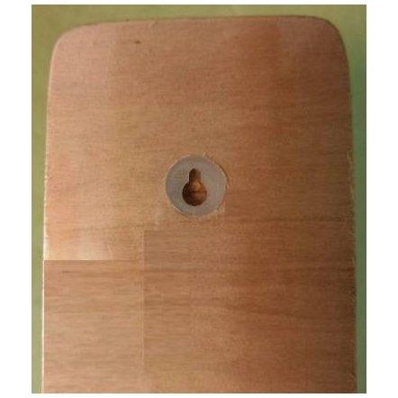 Ростомер деревянный английский алфавит  1139