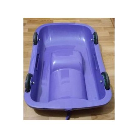 Ледянка Санки универсальные 2 в 1 06550 DOLONI-TOYS фиолетовые