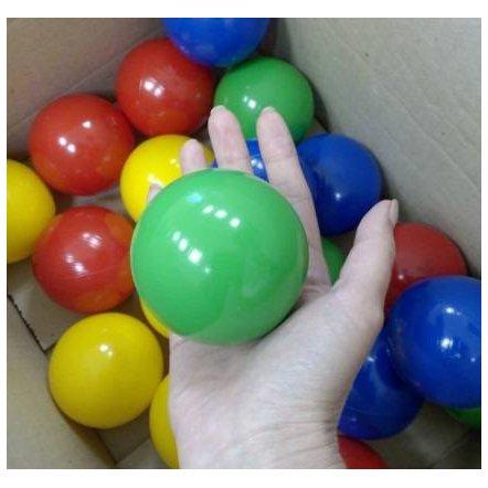 Шарики для  сухого бассейна пластиковые оптом 8,3 см от 1000 штук
