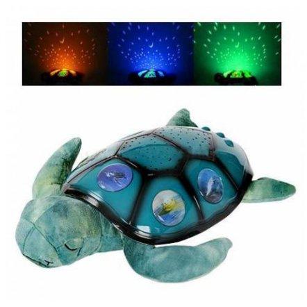 """Ночник проектор звездного неба  """"Черепаха"""" YJ-3"""