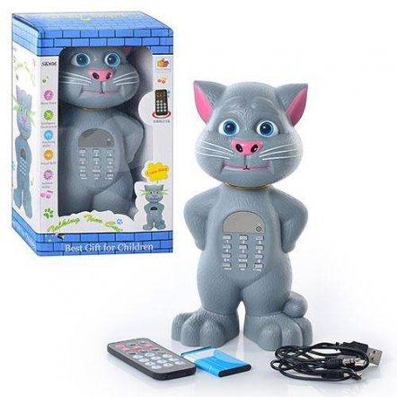 Кот MP3 плеер с функцией повторения речи на радиоуправлении