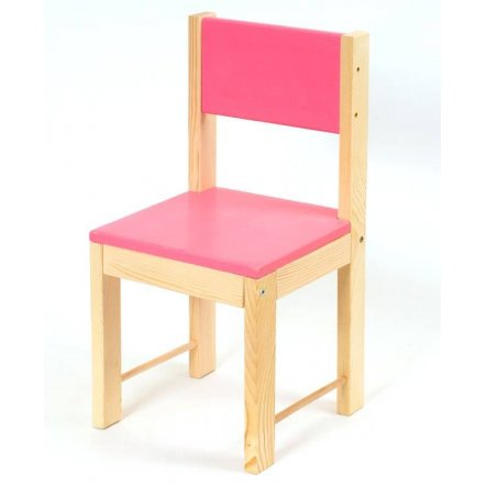 Детский стульчик деревянный 4 цвета, УКРАИНА