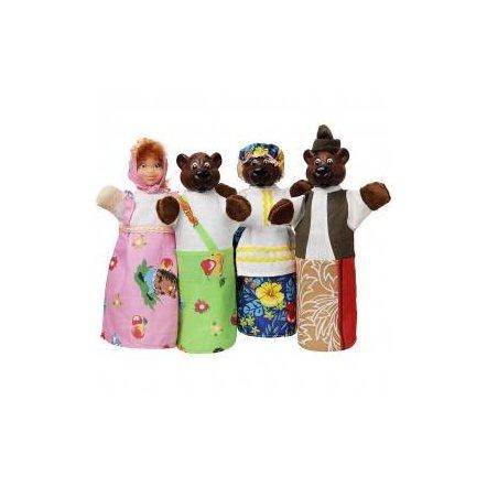 Куклы для кукольного театра 4 героя Сказки Чудисам