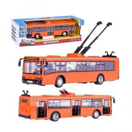 Троллейбус инерционный со звуком и светом 9690B Play Smart