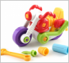 Конструктор Собирайка большой мотоцикл с инструментами 30.002 Toys Plast, Украина