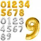 Шарики надувные Цифры для дня рождения 1346
