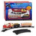 """Железная дорога детская """"Голубой вагон"""" 282 см с дымом и музыкой 70155"""