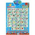 "Интерактивный плакат ""Букварик"" на украинском языке 7031 Limo Toy Цифры"
