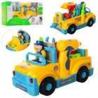 Авто Конструктор Собирайка машинка-грузовик с шуруповертом на батарейках 789