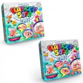Мыло пластилиновое набор для креативного творчества PLAY CLAY SOAP 00-09168 Danko Toys