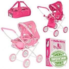 Коляска кукольная Hello Kitty HK 00025