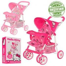 Коляска для кукол Hello Kitty HK 00026