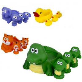 Пищалки для купания Животные семейка 001-628-48-58