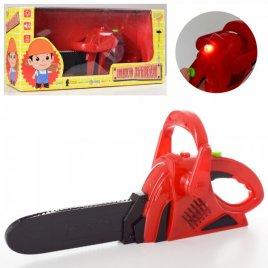 Бензопила игрушечная со звуками и светом 0014