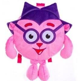 Рюкзак детский фиолетовый ежик 00199-5