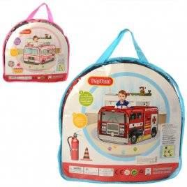 Палатка детская пожарная машина или магазин мороженого MR 0025