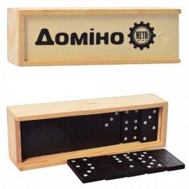 Домино классическое в деревянной коробке 0027