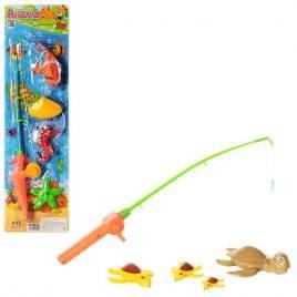 Рыбалка на магнитах с удочкой пластмассовая 0036 Черепашки