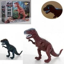 Динозавр со звуком и светом ходит подвижные детали NY007-B