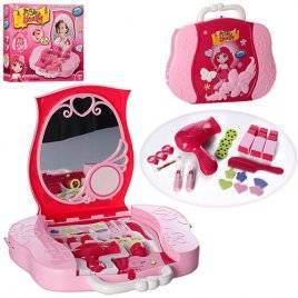 Набор парфюмерный - трюмо настольное в виде чемодана со слайдами 008-809