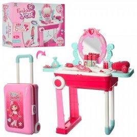 Трюмо детское мобильное в чемодане Модное 008-923