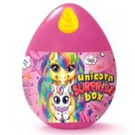 Набор для творчества Яйцо среднее Unicorn Surprise Box ДТ-ОО-09272 Danko Toys