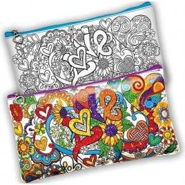Раскраска клатч-пенал для раскрашивания и творчества Hand Made CСL-01-04 ДАНКО ТОЙС