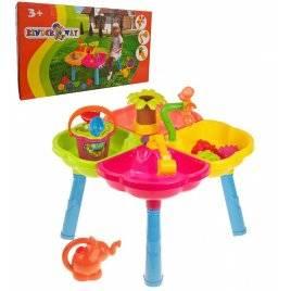 Песочный стол с набором, стульчиком и лейкой 01-121-1 Киндервей
