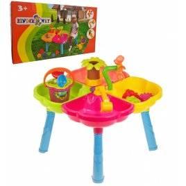 Песочный стол со стулом и набором для игры в песке 01-121 Киндервей