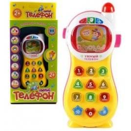 Телефон интерактивный на русском языке Умный 7028 / 0101 Joy Toy
