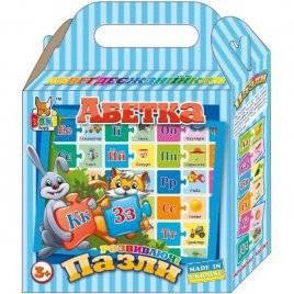 """Пазлы развивающие """"Украинская азбука 0141Boni Toys"""