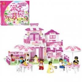 Конструктор для девочек Замок-кафе Розовая мечта B 0150 SLUBAN