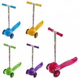 Самокат детский трехколесный 5 цветов 0153 Doloni-toys