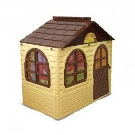 Домик для детей для улицы малый коричневый Долони-Тойс 01550-2-1