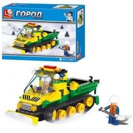 Конструктор Машина снегоуборочная B 0159 Sluban