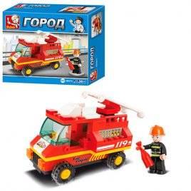 Конструктор Пожарная машина Город M38-B0173 Sluban