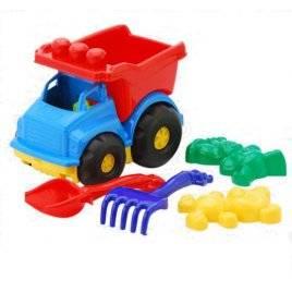 """Машинка """" Тотошка"""" № 2 самосвал с песочным набором 0176 Colorplast, Укранина"""