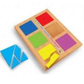 Игра Сложи квадрат 2 уровень Вундеркинд СК-020