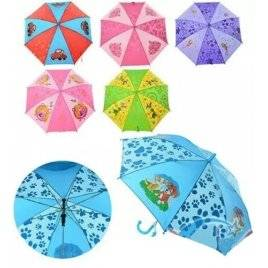 Зонт детский трость Мультики МК 0206-1