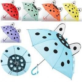 Зонт детский с ушками М 0211