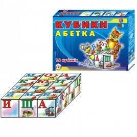 Кубики малые Абетка 0212 Технок